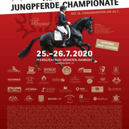 Anzeige Trakehner Jungpferde-Championate 2020